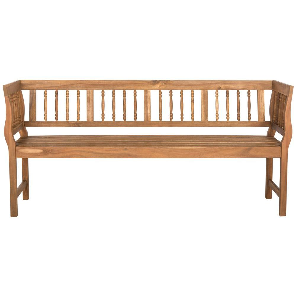 Brentwood Outdoor Acacia Patio Bench in Teak