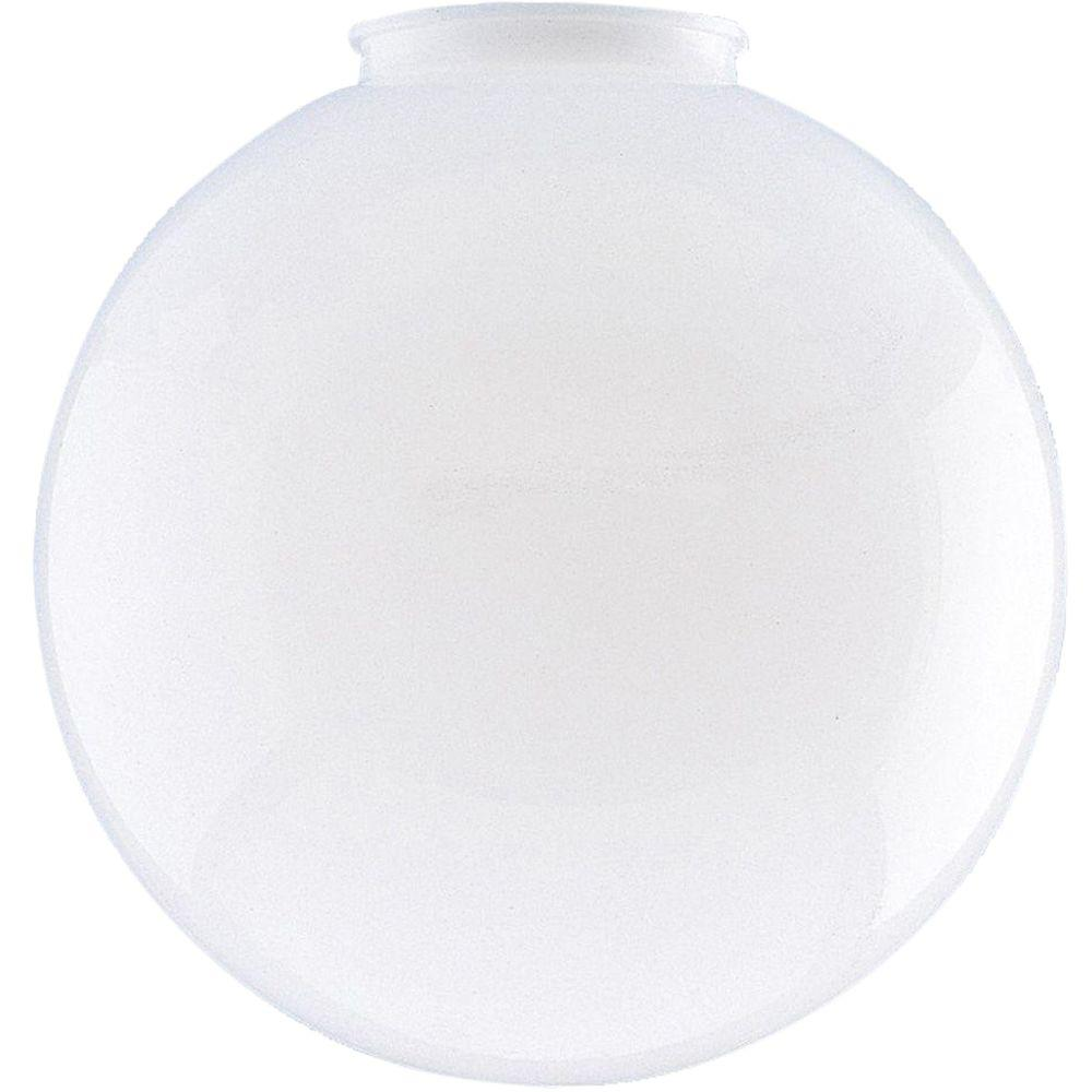 Westinghouse 6 in. White Polycarbonate Globe with 3-1/4 in. Fitter