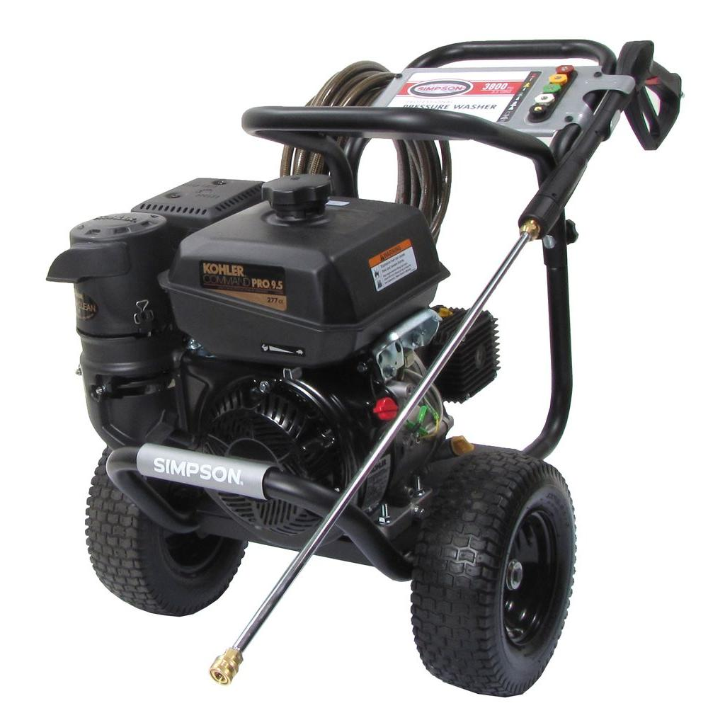 Simpson 3800 psi 3.5 GPM Cold Water Gas Pressure Washer-DISCONTINUED