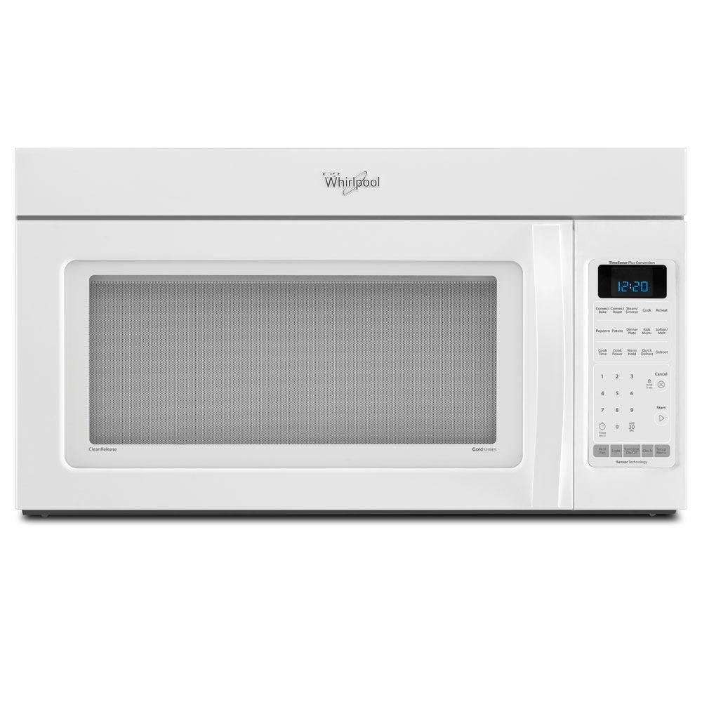 Whirlpool 1.8 cu. ft. Over the Range Convection Microwave in White, with Sensor Cooking-DISCONTINUED