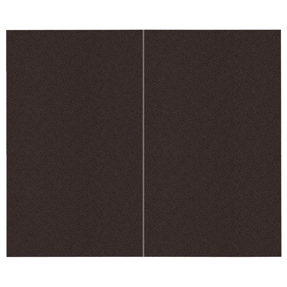 SoftWall Finishing Systems 44 sq. ft. Coffee Bean Fabric Covered Top Kit Wall Panel