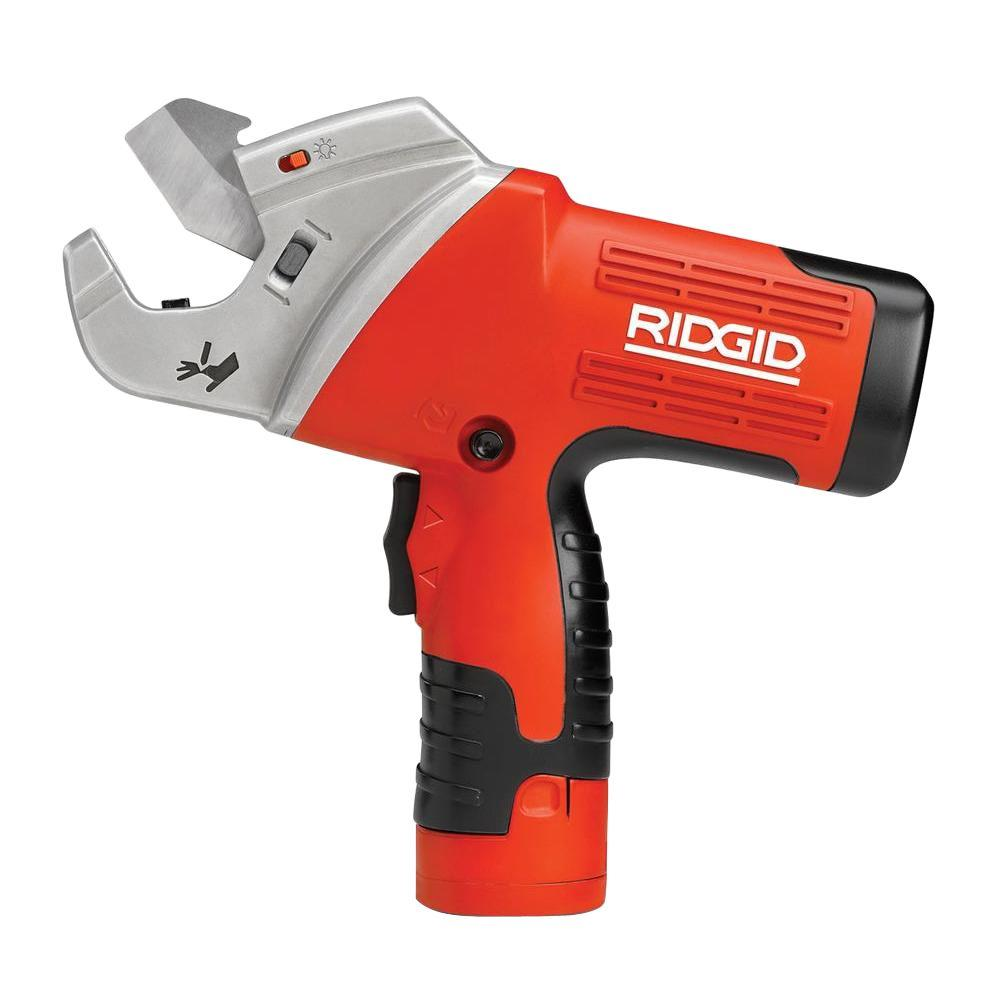 RIDGID TC-40 Powered Plastic Pipe and Tube Cutter-DISCONTINUED