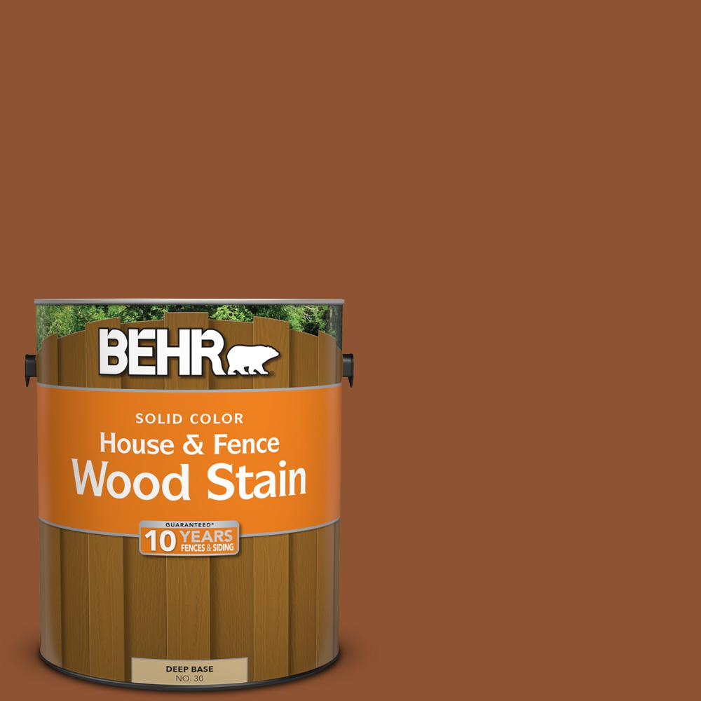 1 gal. #SC-122 Redwood Naturaltone Solid Color House and Fence Wood