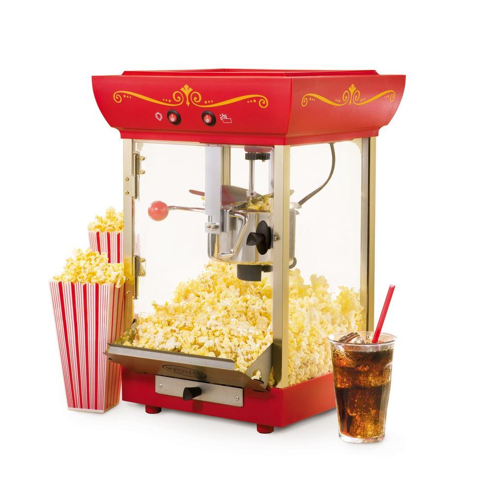 Nostalgia Electrics Vintage Collection Old Fashioned Movie Time Popcorn Popper-DISCONTINUED