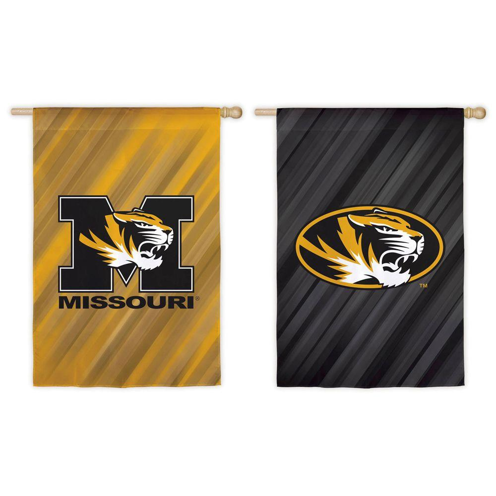 Fan Essentials NCAA 28 in. x 44 in. University of Missouri Suede House Flag