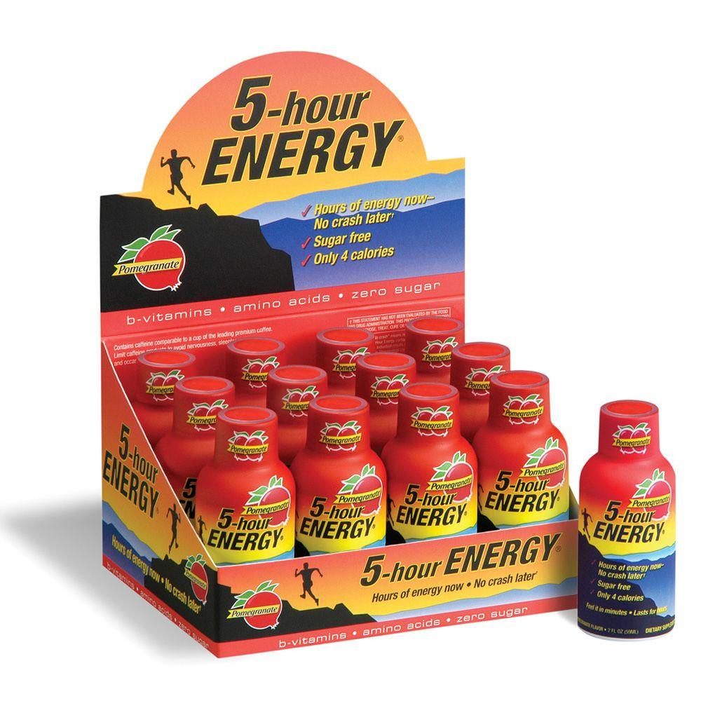 5 Hour Energy Pomegranate Energy Drink (12-Pack)