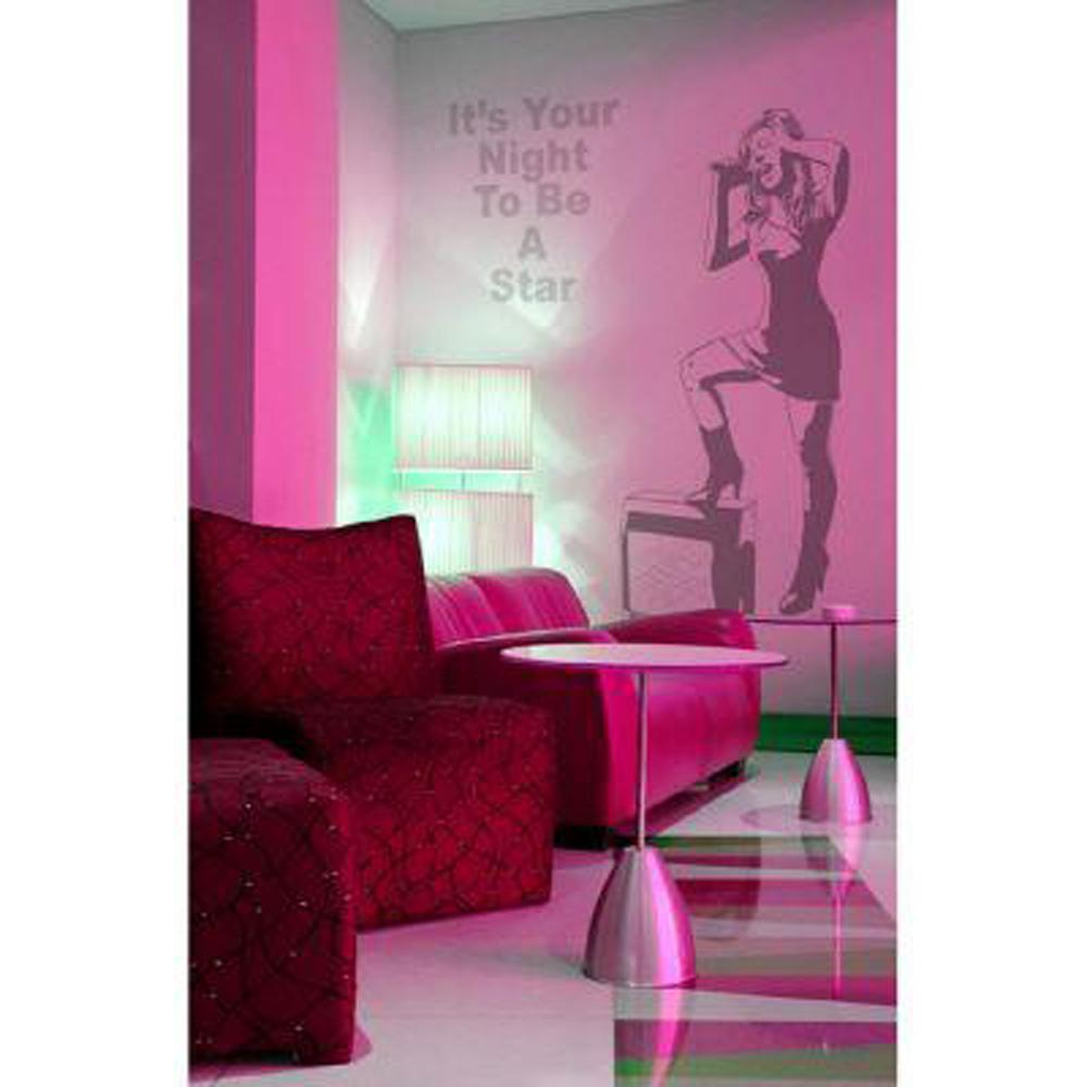 45 in. x 24 in. Rock Star Wall Decal