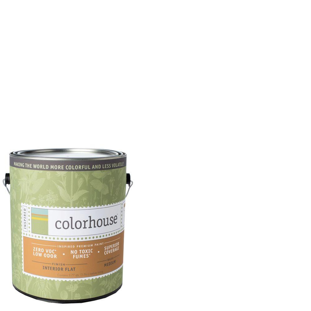 Colorhouse 1-gal. Bisque .01 Flat Interior Paint-491113 - The Home Depot