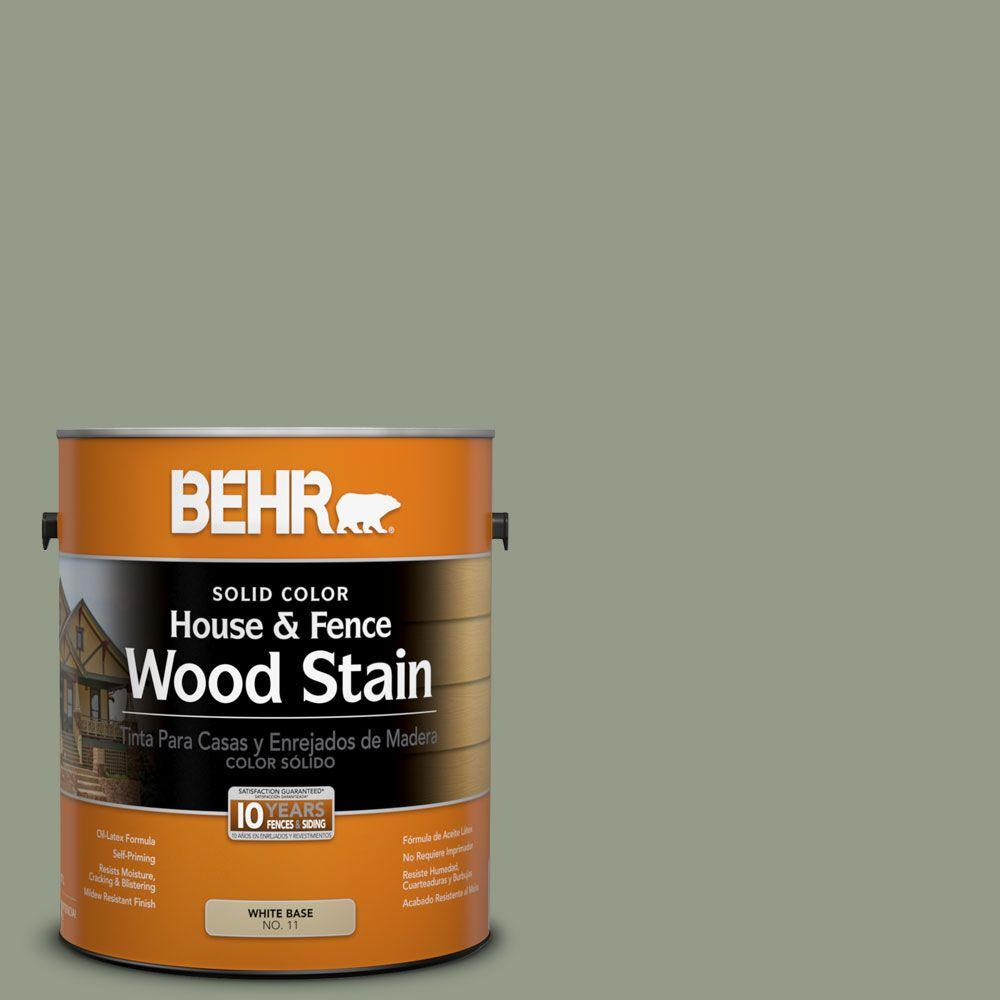 BEHR 1-gal. #SC-143 Harbor Gray Solid Color House and Fence Wood