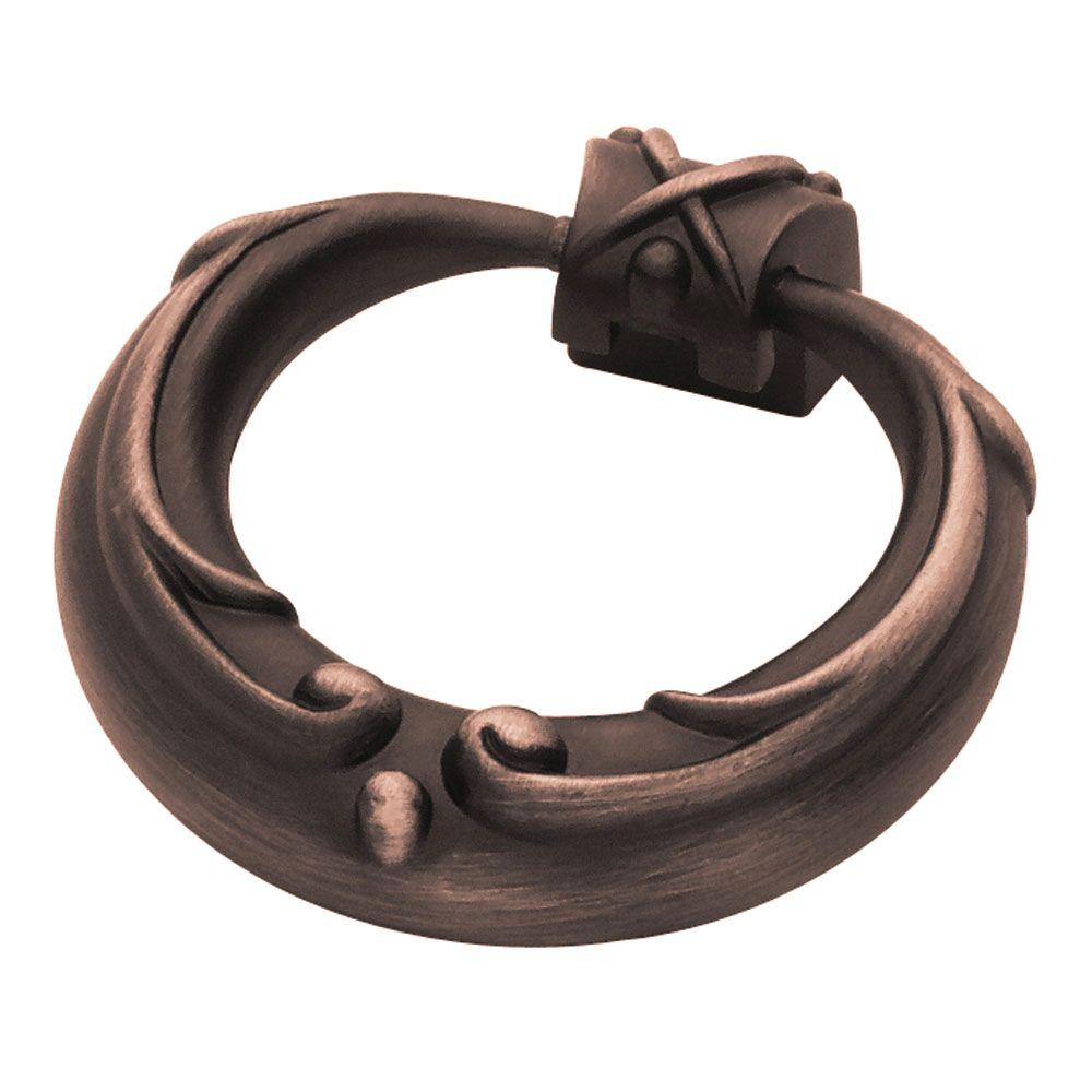 French Romantics 2 in. (51mm) Venetian Bronze French Lace Ring Pull