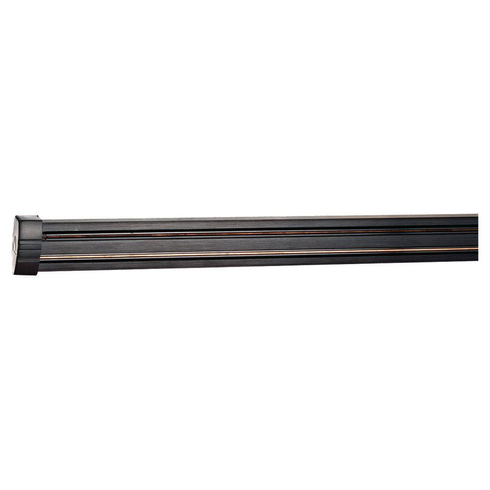 Ambiance Transitions 8 ft. Antique Bronze Single Circuit Rail