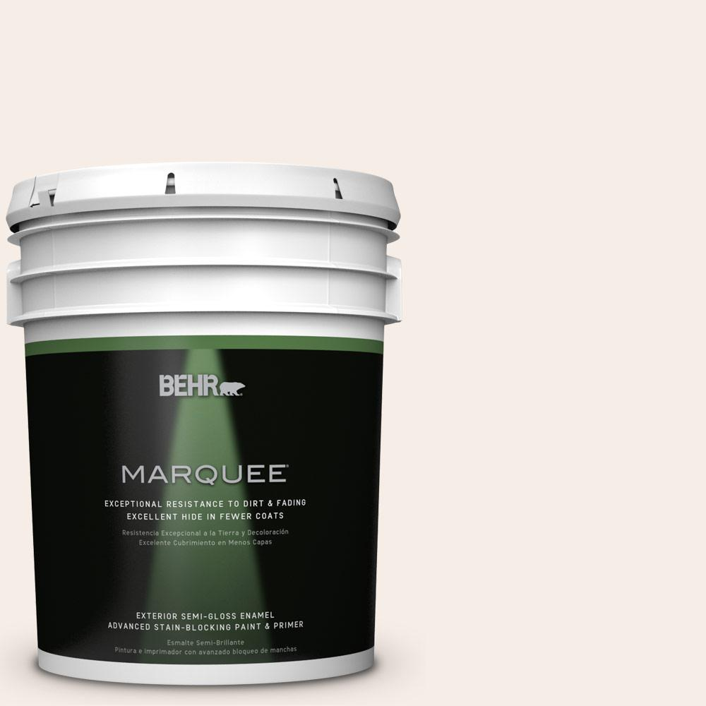 BEHR MARQUEE 5-gal. #PWN-25 Champagne Flute Semi-Gloss Enamel Exterior Paint