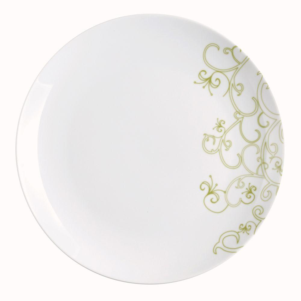 Rachael Ray Curly-Q 4-Piece Dinner Plate Set