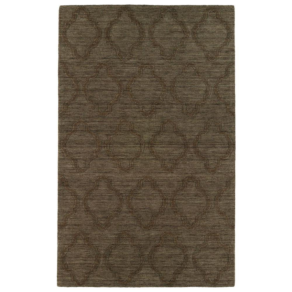 Imprints Modern Chocolate 3 ft. 6 in. x 5 ft. 6