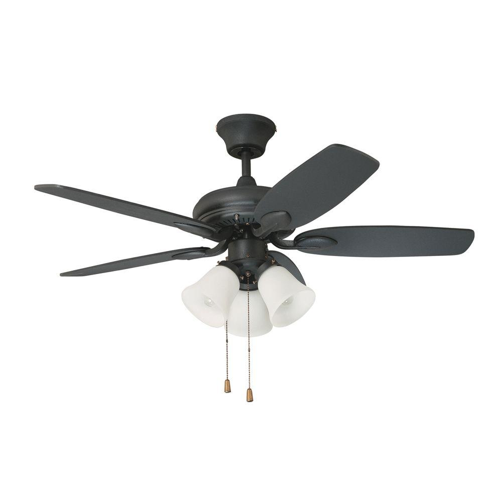 Designers Choice Collection Cordova 42 in. Wrought Iron Ceiling Fan-DISCONTINUED