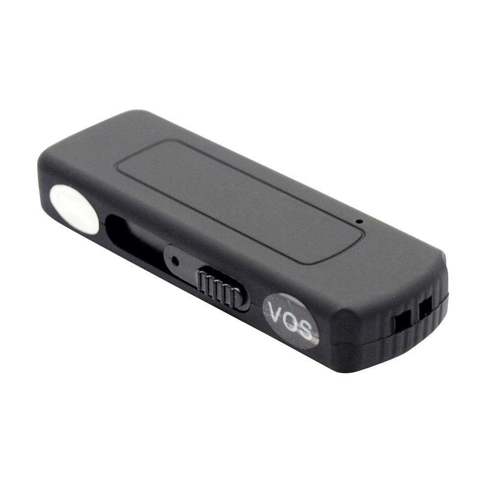 15 Hour Voice Activated Flash Drive Audio Recorder with 4GB Memory