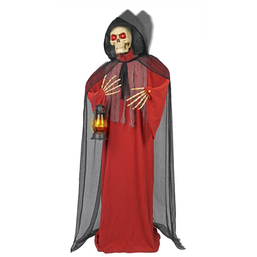 72 in. Animated Grim Reaper with Moving Hood