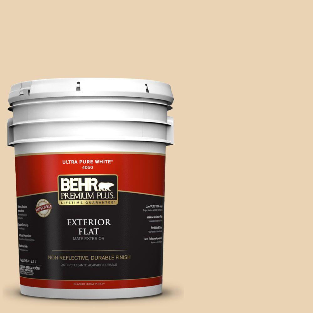 5-gal. #ICC-93 Champagne Gold Flat Exterior Paint
