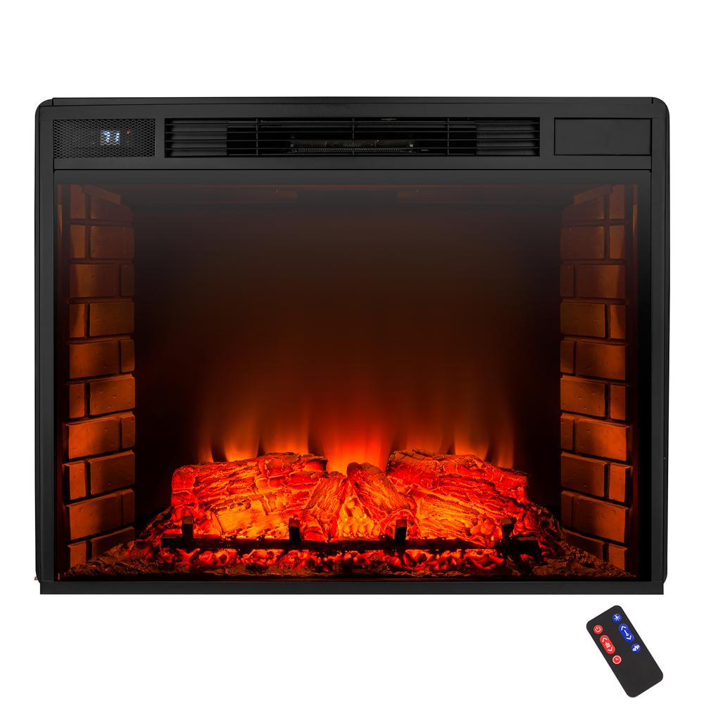 AKDY 26 in Freestanding Electric Fireplace Insert Heater