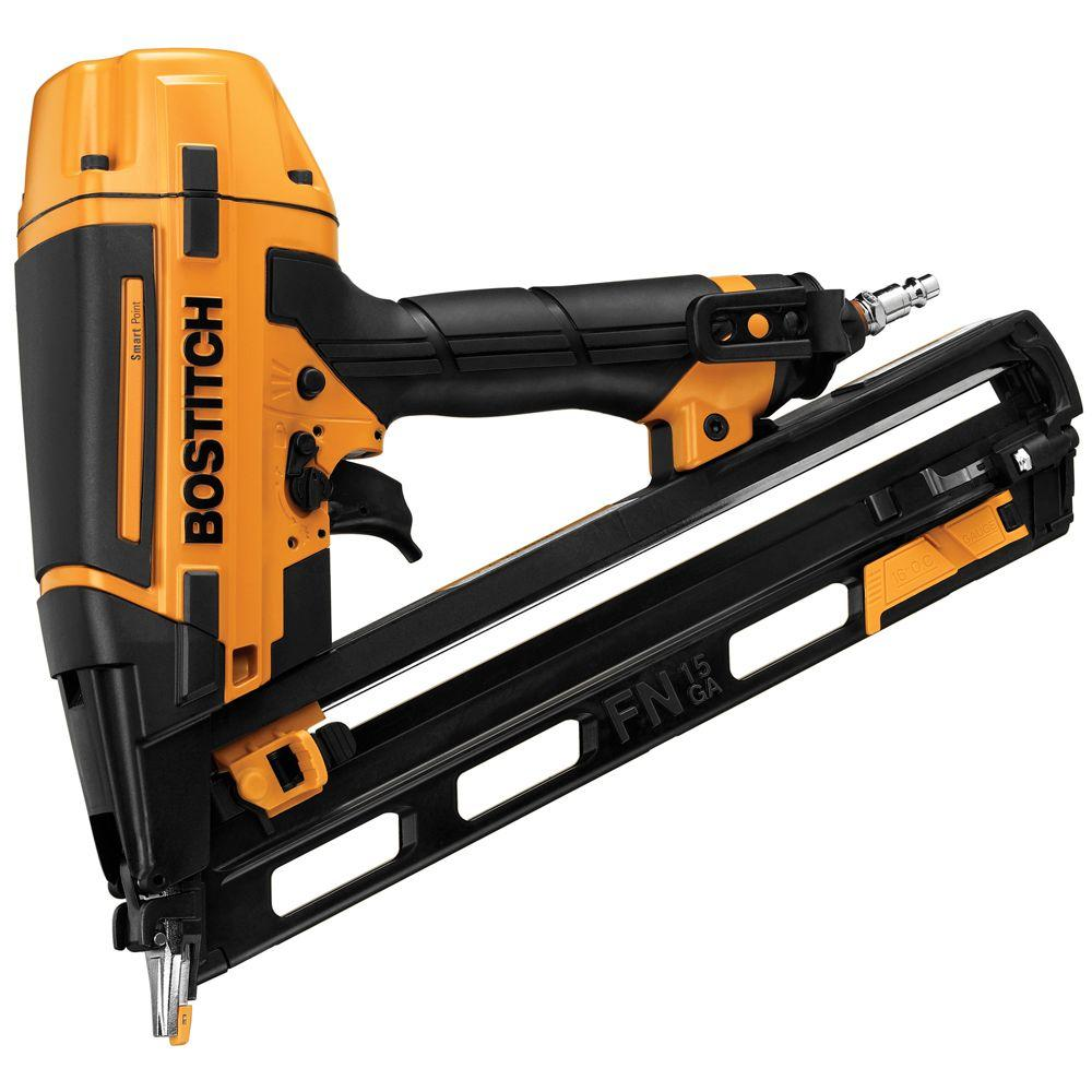 "Bostitch Smart Point 15-Gauge ""FN"" Style Angle Nailer Kit-BTFP72156 -"