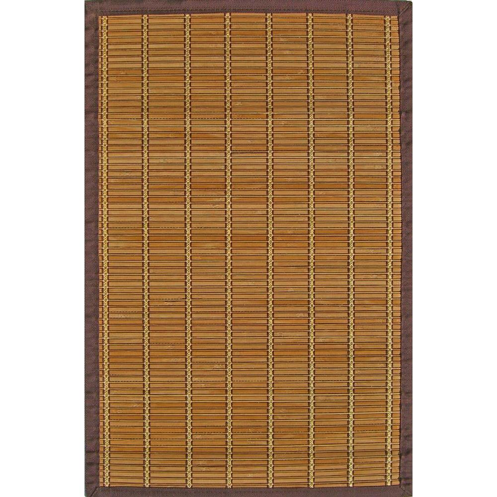 Anji Mountain Pearl River Brown and Gold 5 ft. x 8 ft. Area Rug