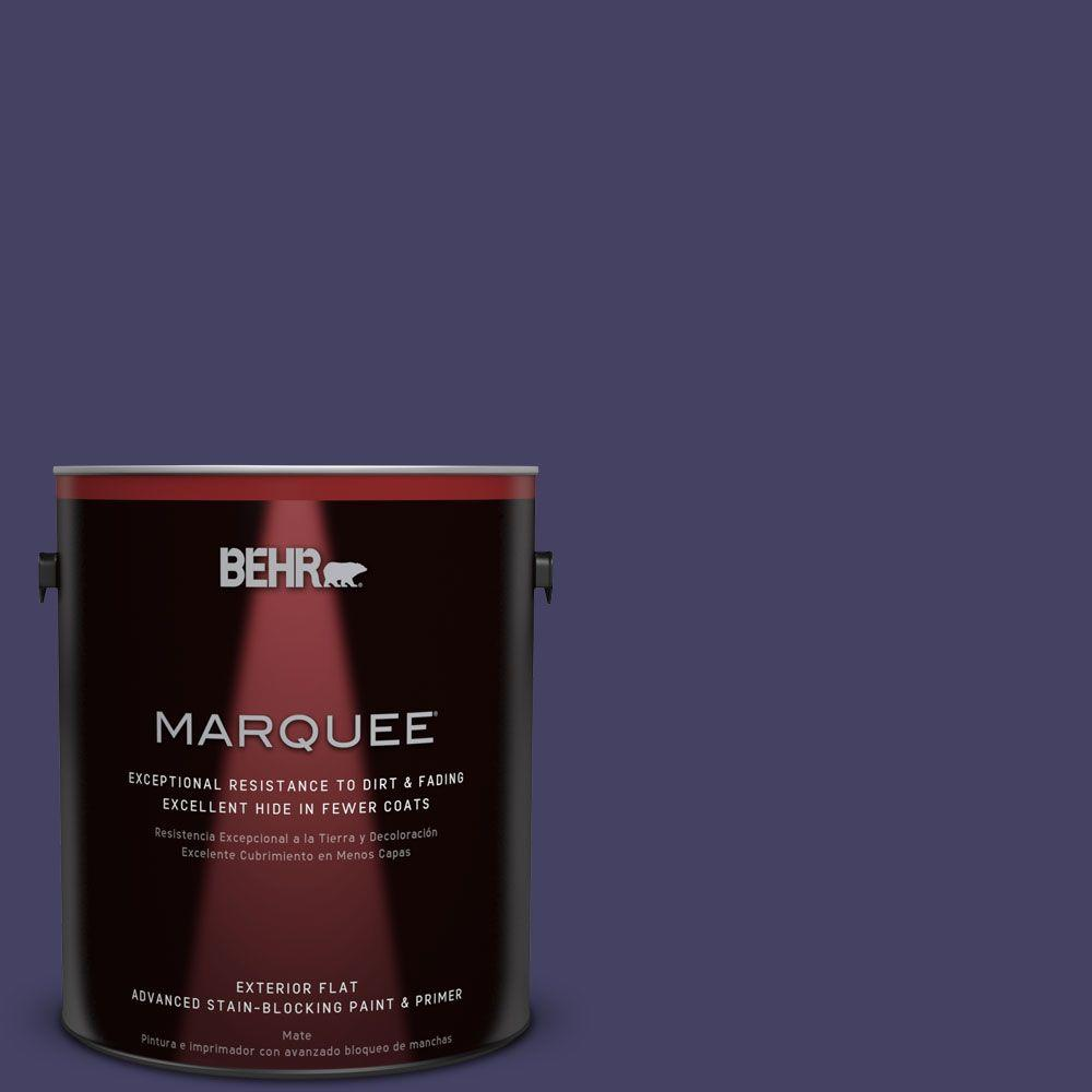 BEHR MARQUEE 1-gal. #MQ5-44 Heraldic Flat Exterior Paint