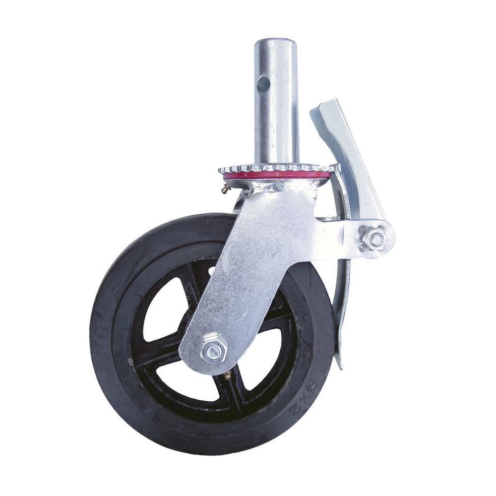 MetalTech 8 in. Scaffolding Caster Wheel-M-MBC8 - The Home Depot