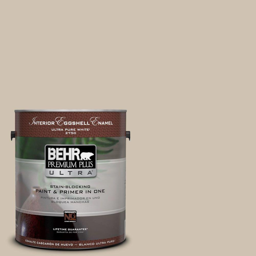 Home Decorators Collection 1-gal. #HDC-NT-13 Merino Wool Eggshell Enamel Interior Paint