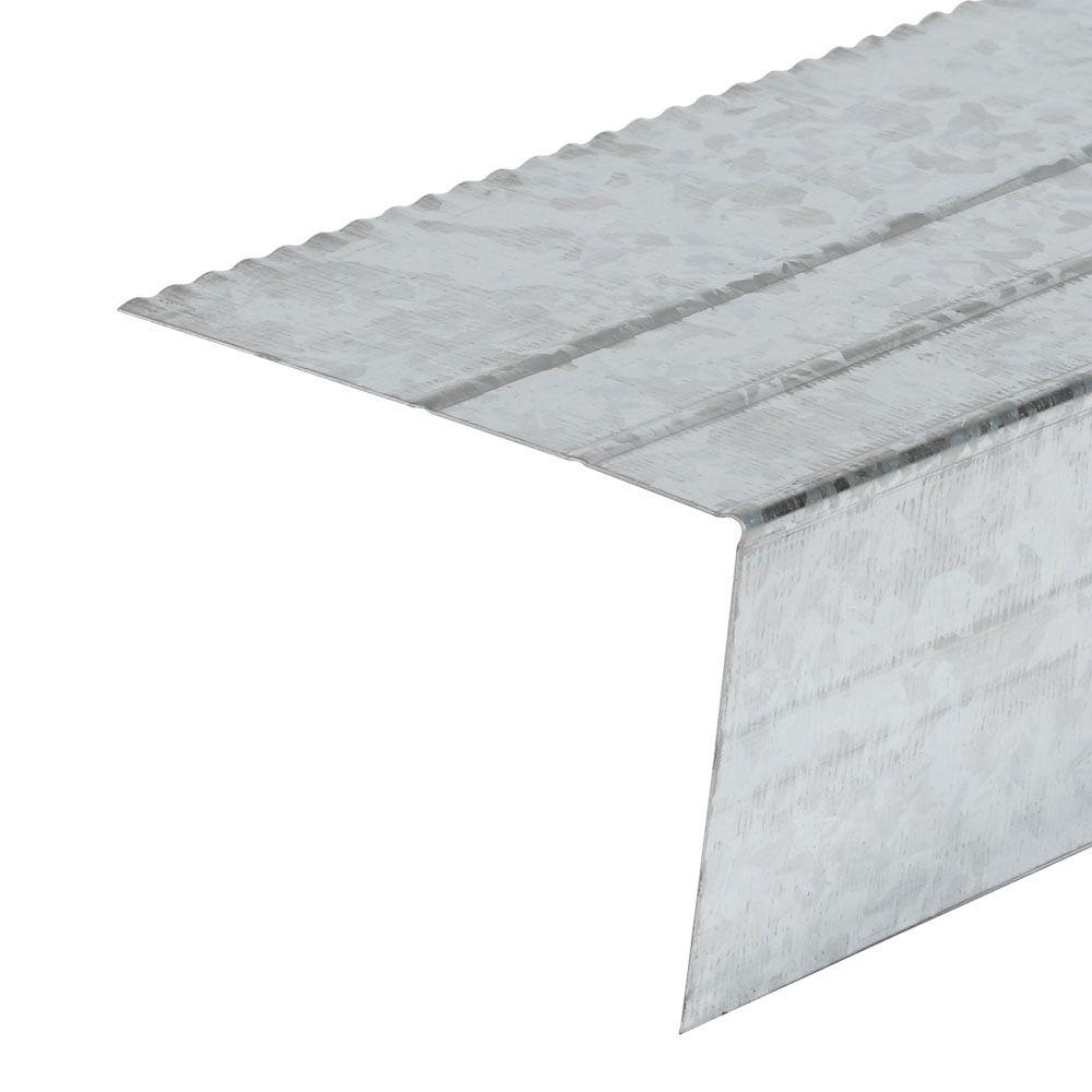 Amerimax Home Products E4 Galvanizer Drip Edge Flashing-5601200120 - The Home