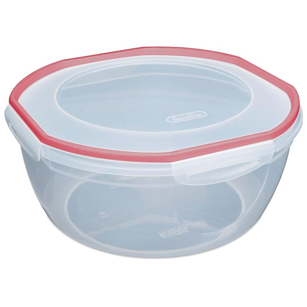 Sterilite Ultra-Seal 8.1-quart Bowl Food Storage Container (4-Pack)-DISCONTINUED