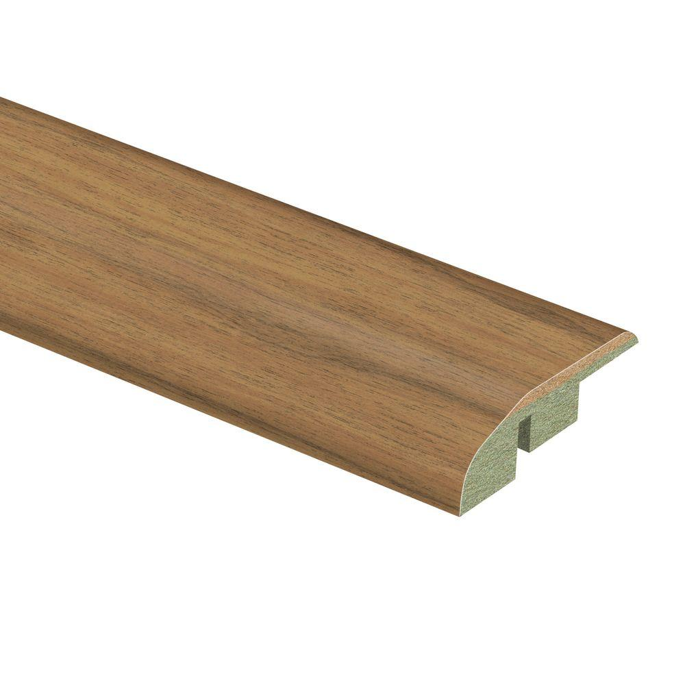 Zamma Young Pecan 1/2 in. Thick x 1-3/4 in. Wide x 72 in. Length Laminate Multi-Purpose Reducer Molding