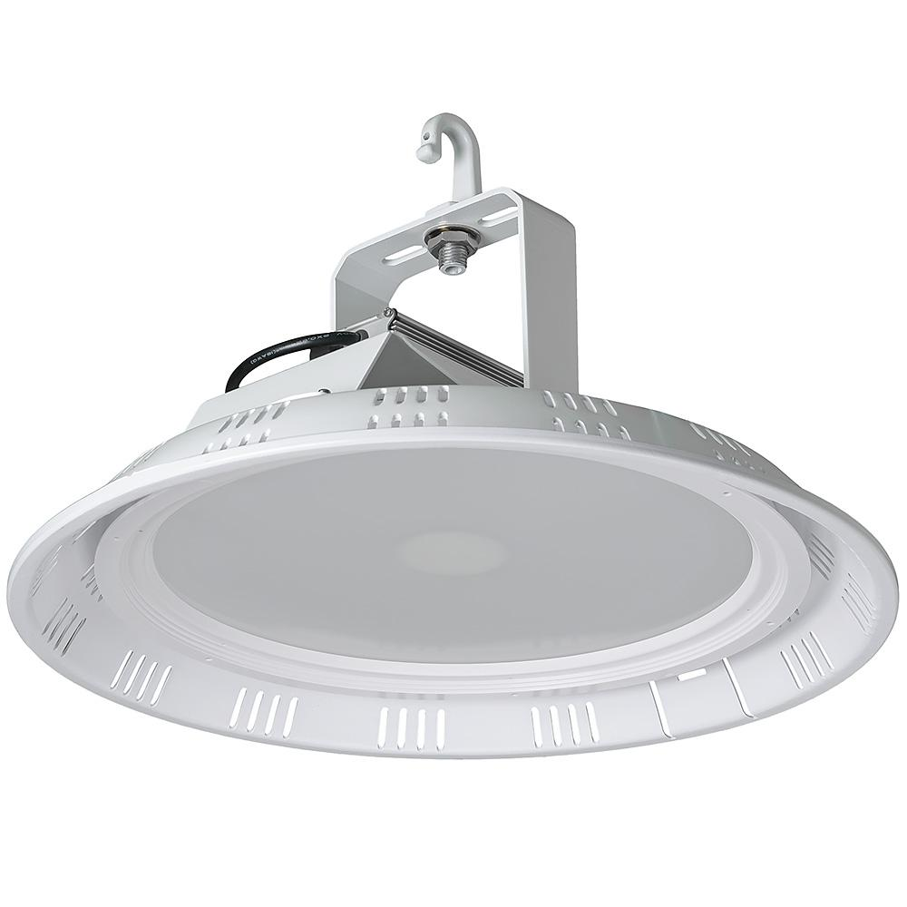 18 in. 200-Watt Equivalent White Integrated LED Round High Bay