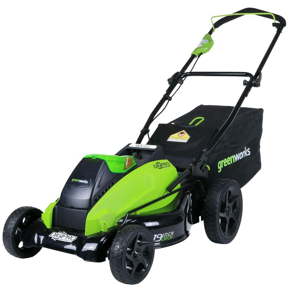 Digi-Pro GMAX 19 in. 40-Volt Brushless Cordless Battery Push Lawn Mower