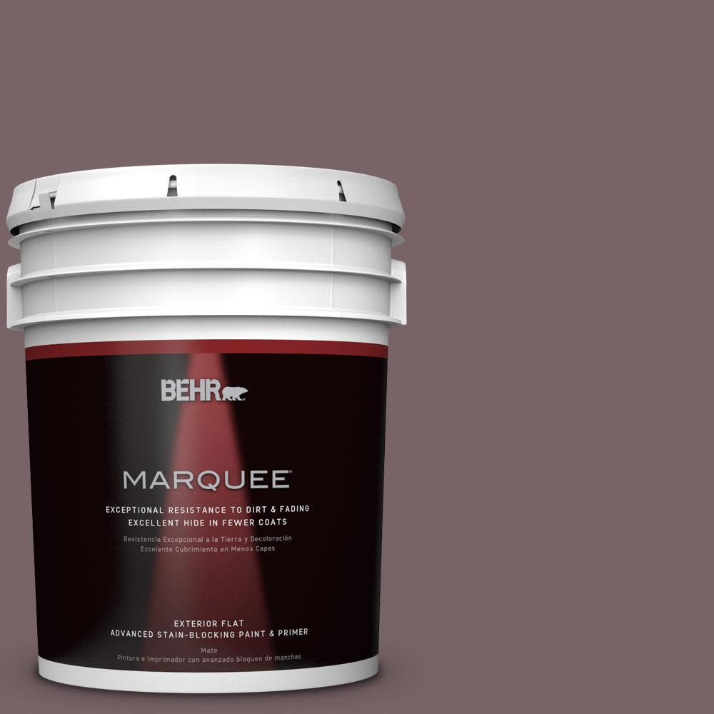 BEHR MARQUEE 5-gal. #PPU1-3 Tibetan Temple Flat Exterior Paint