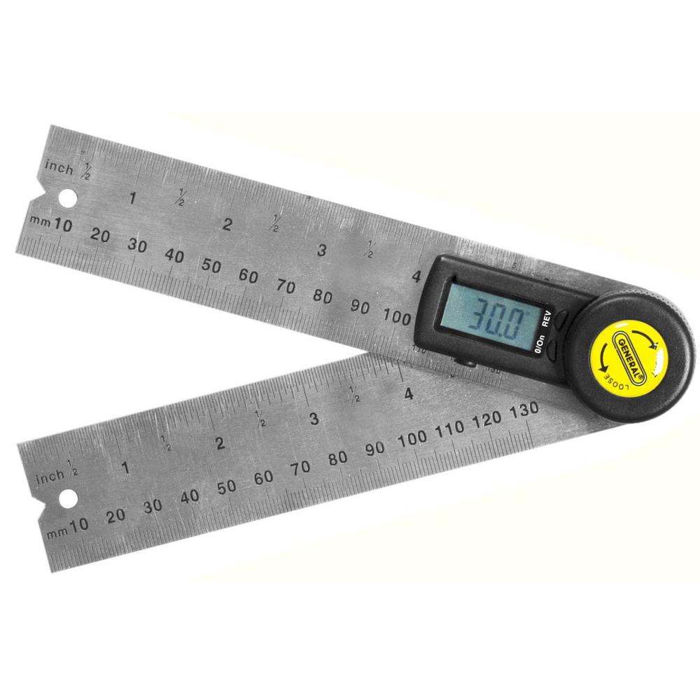General Tools 5 in. Digital Angle Finder-822 - The Home Depot