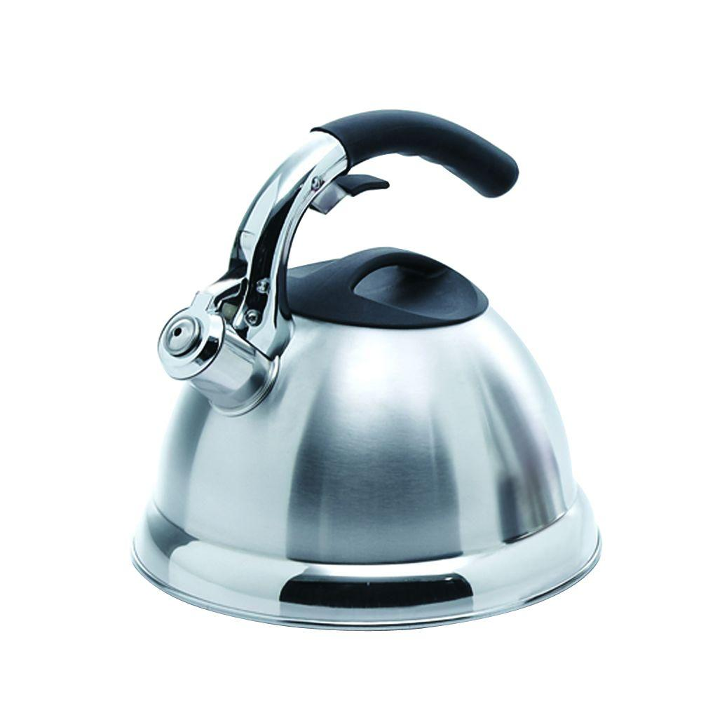 Creative Home Avalon 12-Cup Tea Kettle in Stainless Steel
