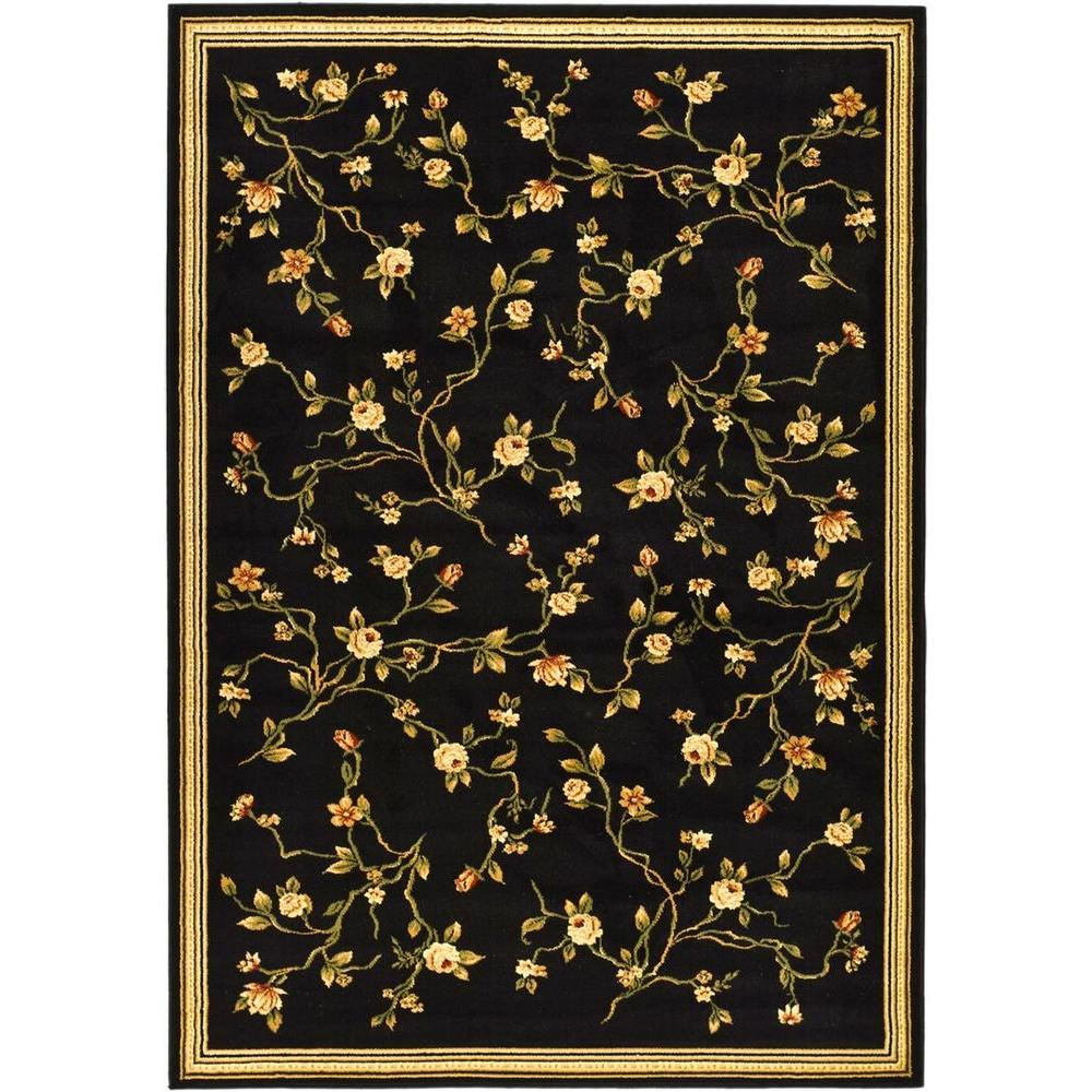 Safavieh Lyndhurst Black 8 ft. x 11 ft. Area Rug