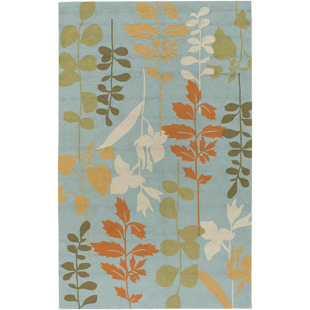 Artistic Weavers Cannonville Pale Blue 8 ft. x 10 ft. Area Rug