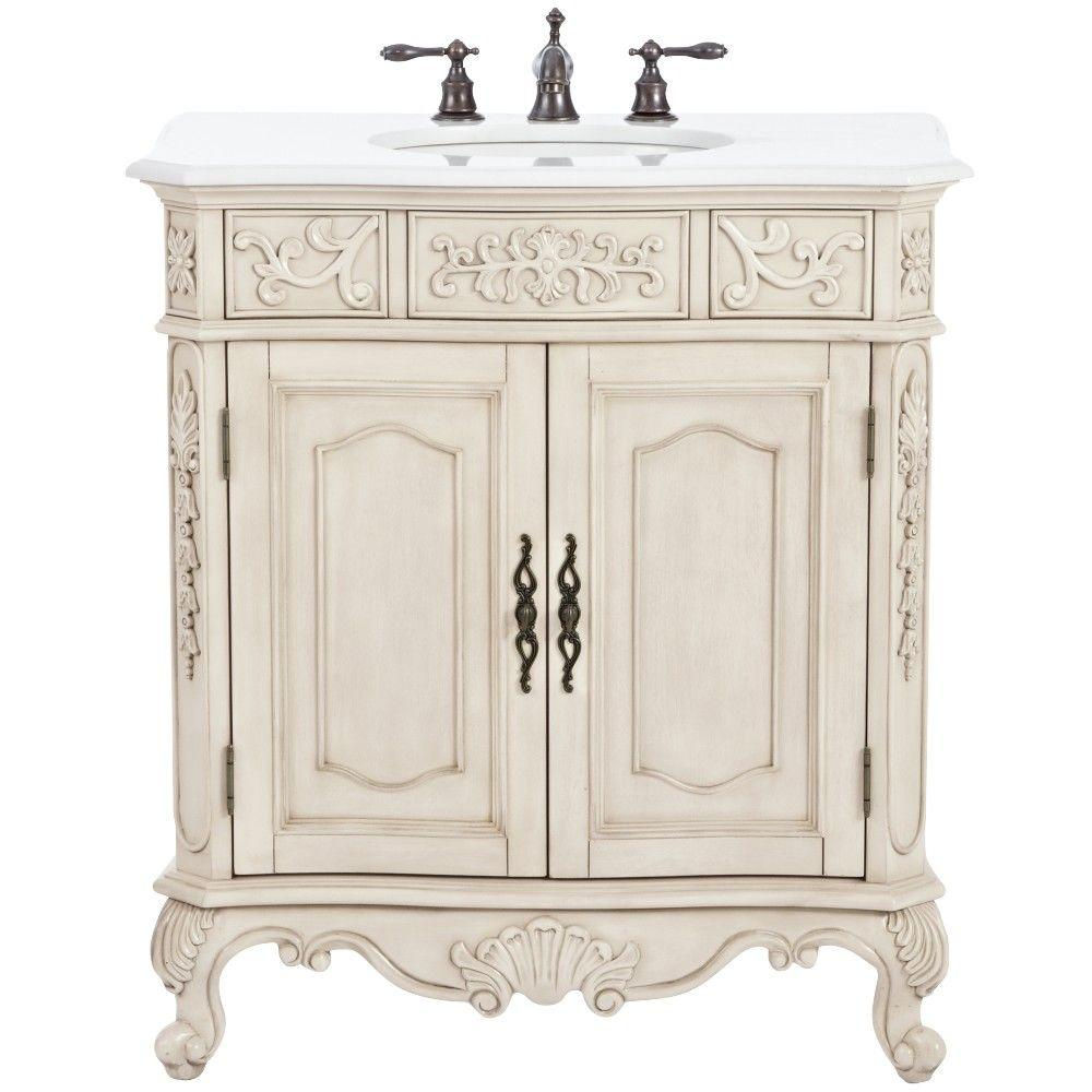 home decorators collection winslow 33 in w bath vanity in