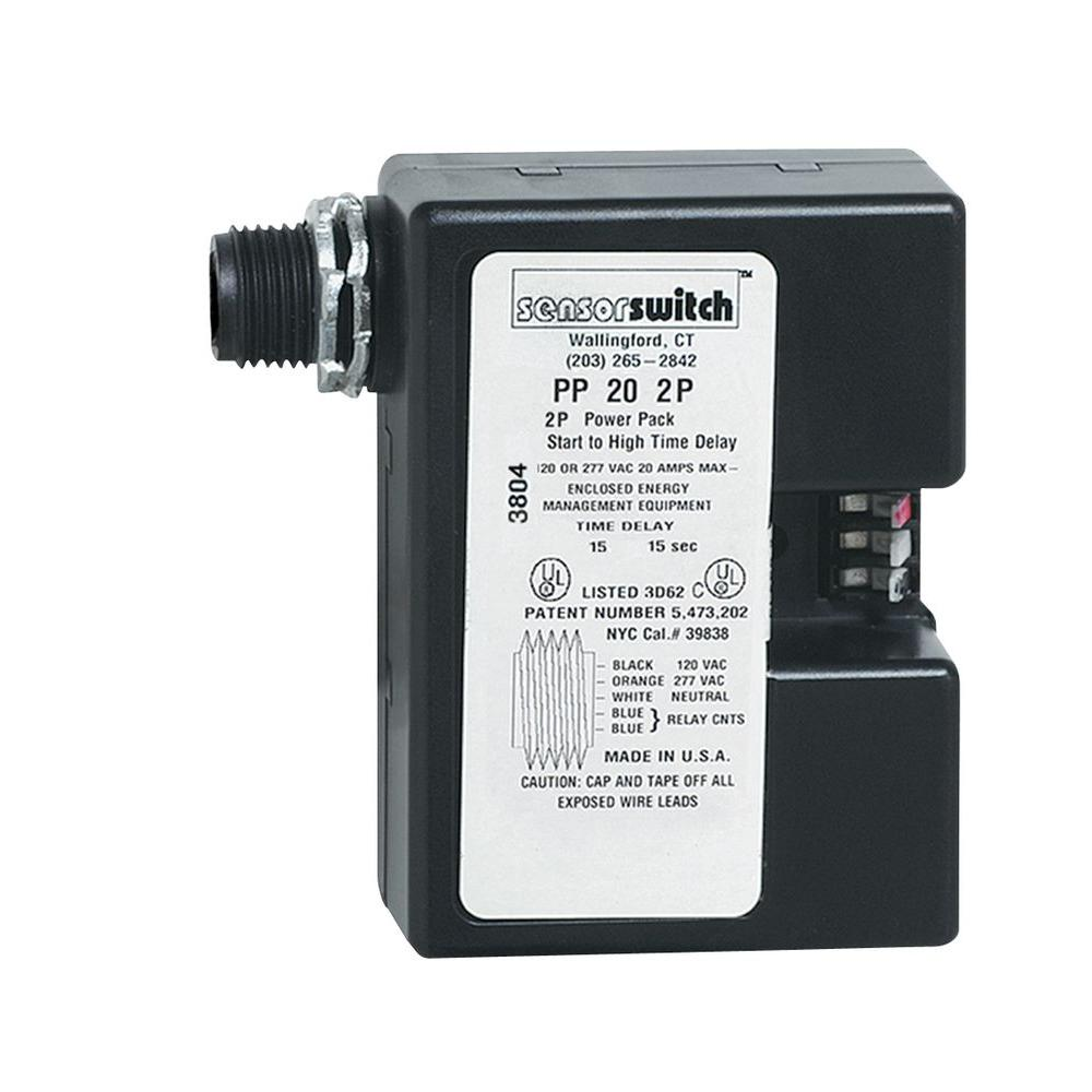 2-Pole Power Pack for Low-Voltage Occupancy Sensor
