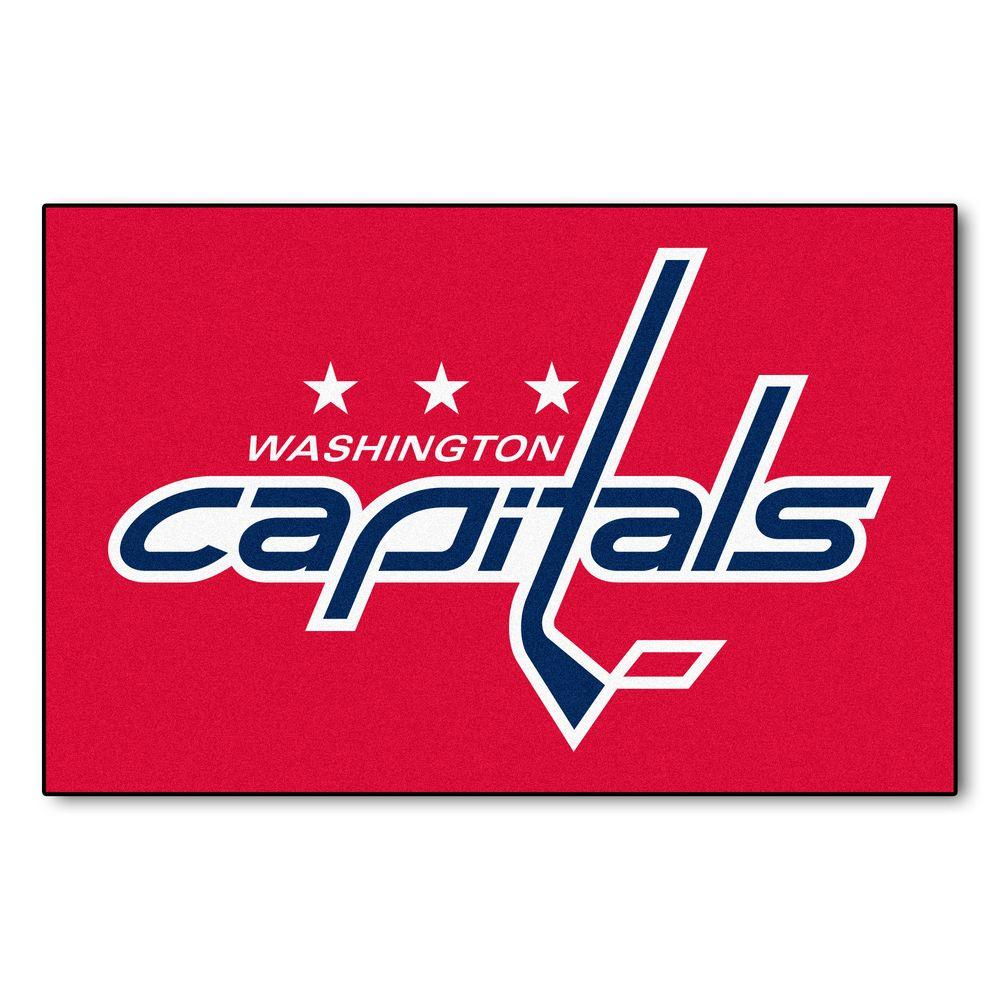 Washington Capitals 19 in. x 30 in. Accent Rug