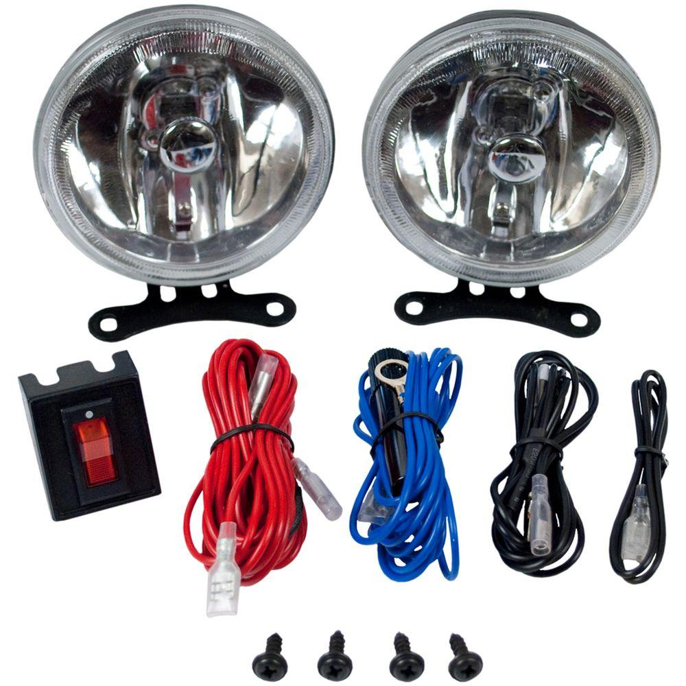 4 in. Round Truck Driving Light Kit