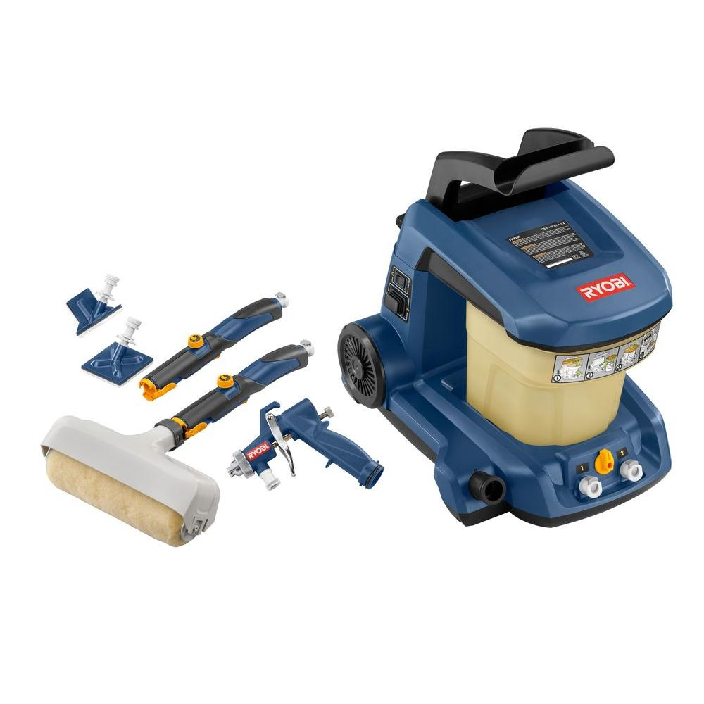 Ryobi Duet 1-gal. Power Painting System with HVLP Sprayer FPR300N-DISCONTINUED