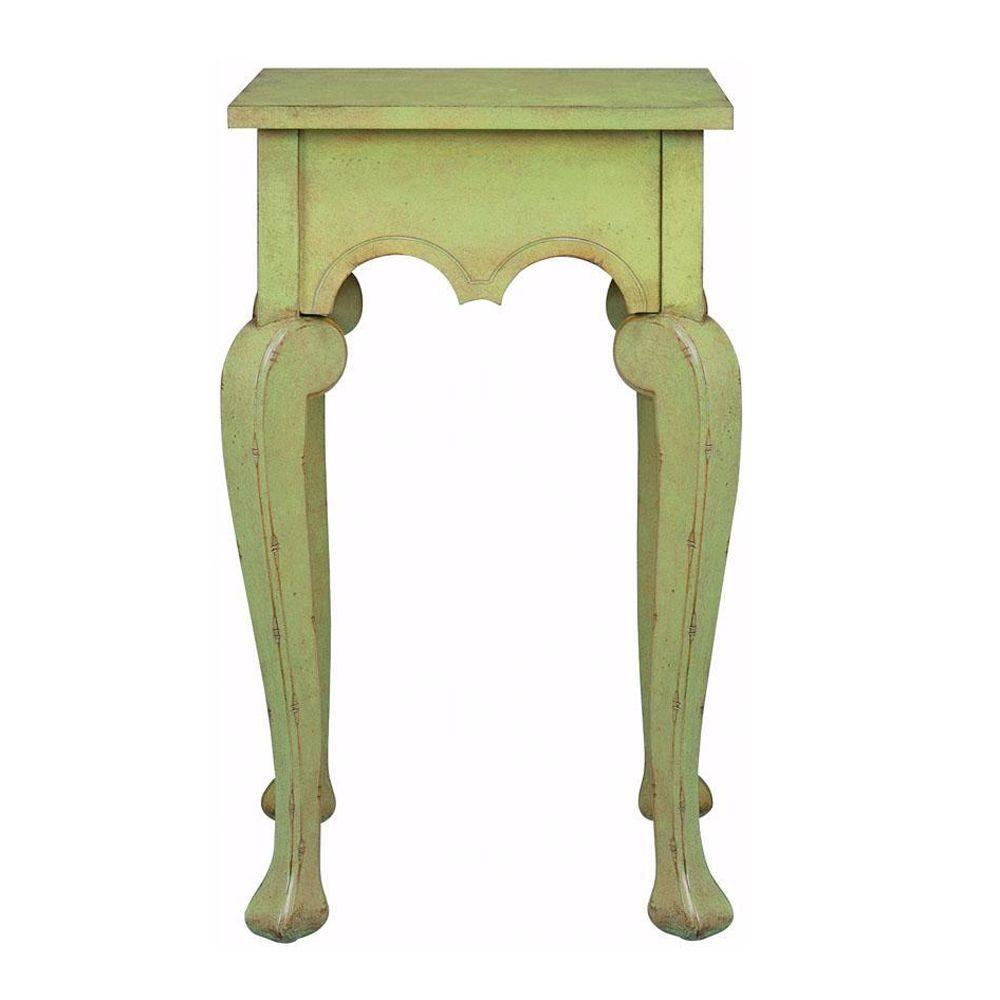 Home Decorators Collection Keys Antique Green Side Table