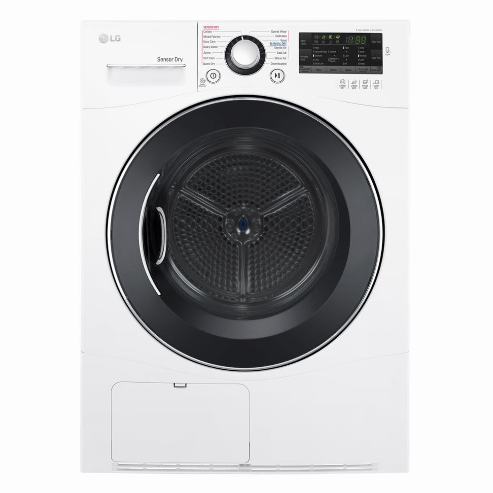 Ge 6 2 Cu Ft Electric Dryer In White Gtx42easjww The
