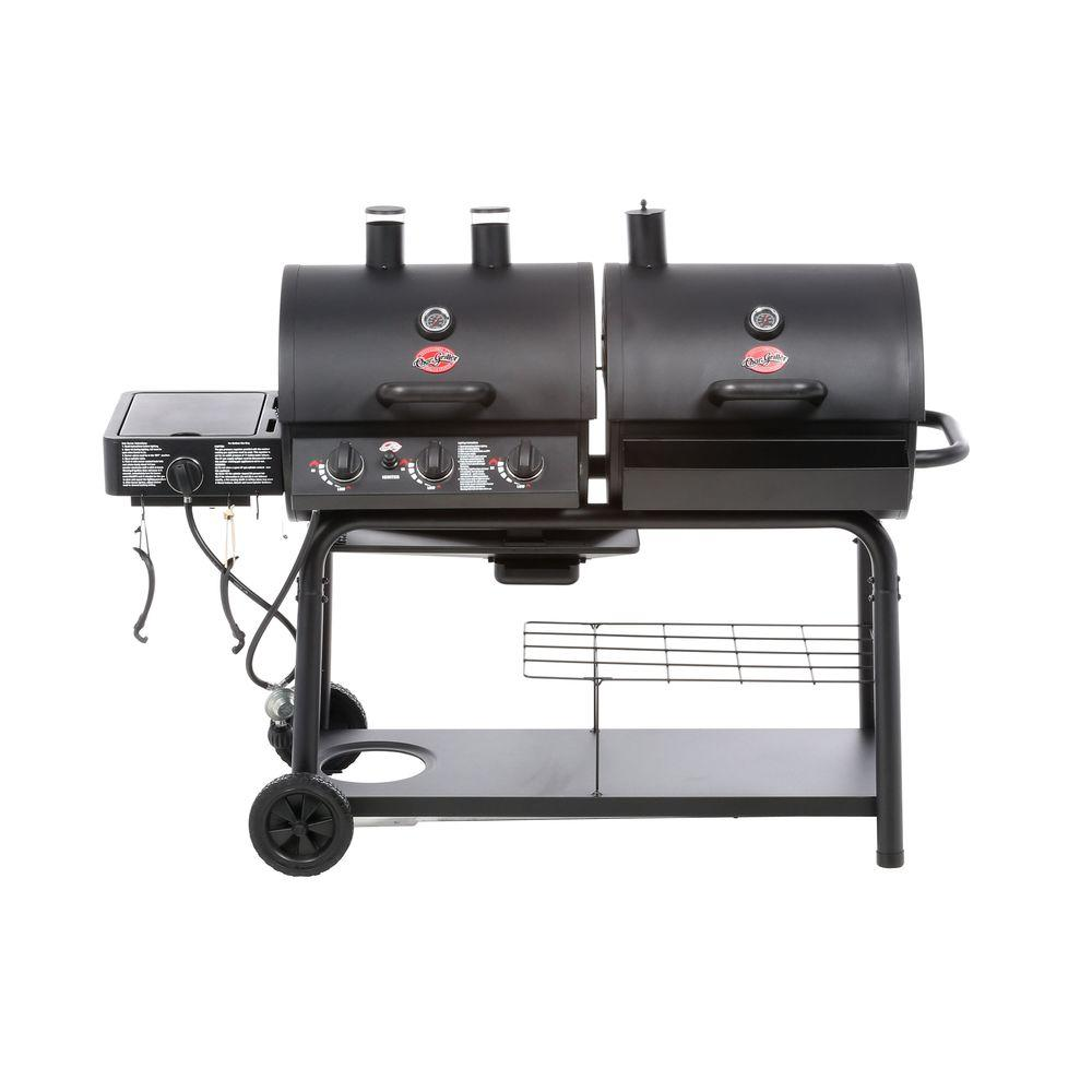 Char-Griller Duo 3-Burner Propane Gas/Charcoal Grill