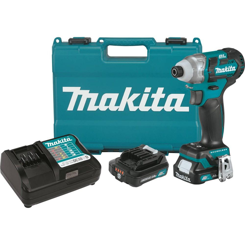 12-Volt MAX 2.0Ah CXT Lithium-Ion Brushless 1/4 in. Cordless Impact Driver