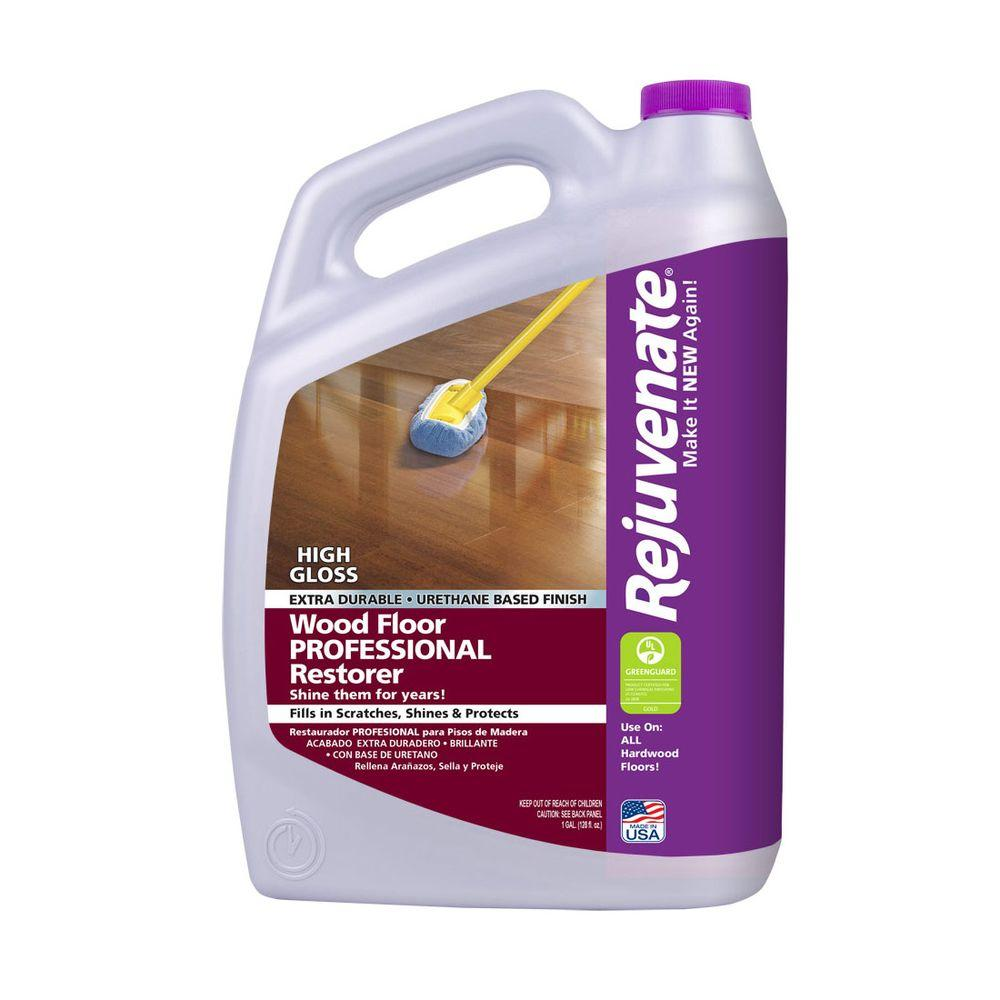 Rejuvenate 128 oz professional high gloss wood floor Rejuvenate wood floor