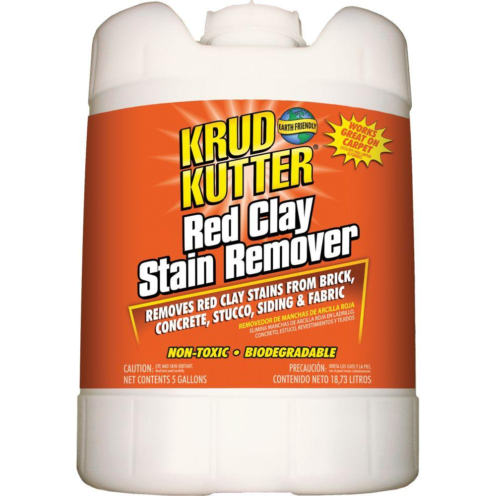 Krud Kutter 5 Gal Red Clay Stain Remover Rc05 The Home