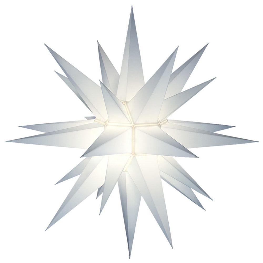 21 in. Illuminated Holiday Star-5000 - The Home Depot